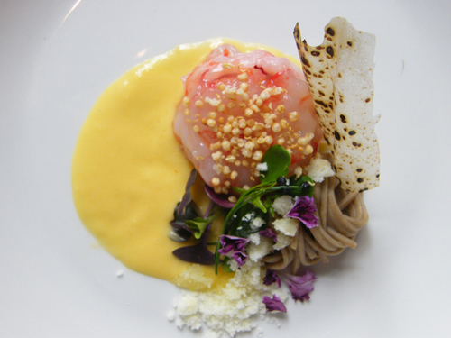 Ricette estive gamberi rossi e maionese di pesche for Ricette alta cucina