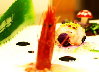 La sfera di gambero rosso di saul halevi for Alta cucina ricette