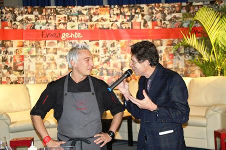 il secondo chef lombardo andrea mainardi di officina cucina a brescia che ha iniziato a costruire il suo sogno alla scuola alberghiera di san