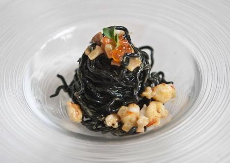 Tagliolini al sugo di carbonara di pesce di lorenzo for Primi piatti di pesce ricette
