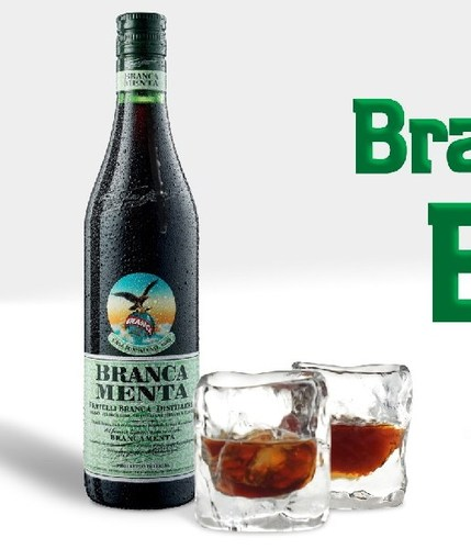 A cool drink with brancamenta for Bicchieri brancamenta