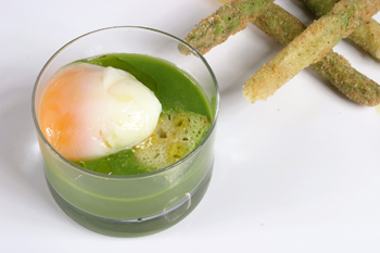 Ricette alta cucina zuppa pavese di asparagi for Ricette alta cucina