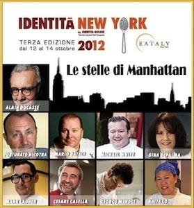 Alta cucina italiana a identit new york 2012 for Ricette alta cucina italiana