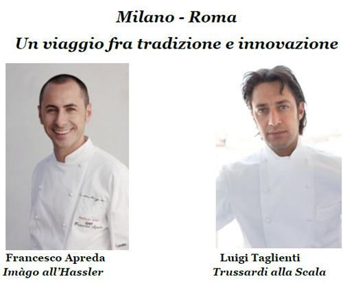 Cena a 4 mani con francesco apreda e luigi taglienti for Luigi taglienti chef