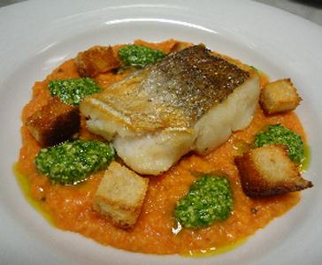 Ricette grandi chef nasello su pappa al pomodoro - Alta cucina ricette segrete dei grandi ristoranti d italia ...
