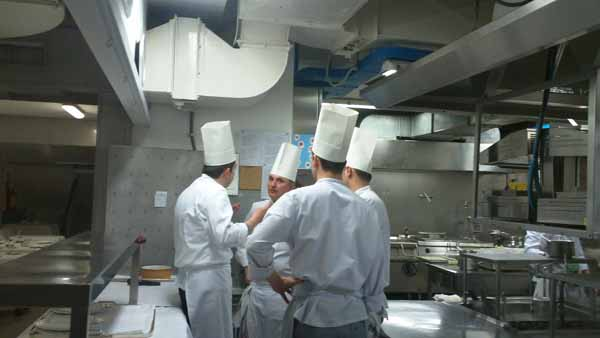 Un giorno nella cucina di villa d 39 este a cernobbio italiasquisita - Cucina villa d este ...